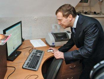 О блоггерстве нашего Президента!