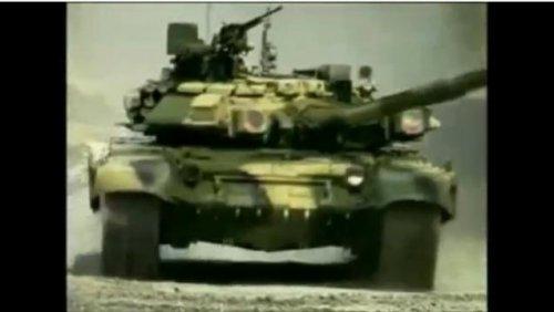 Реклама танка Т-90