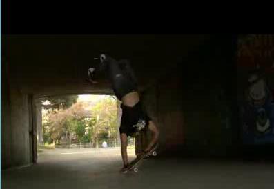 Трюки на скейтборде