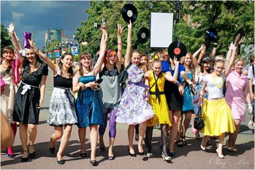 Стиляги в Челябинске!