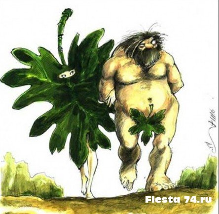 Анекдот - про Адама и Еву