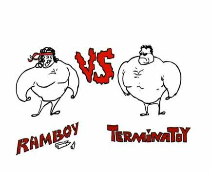 Рэмбо VS Терминатор