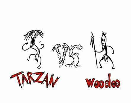Tarzan vs Woodoo