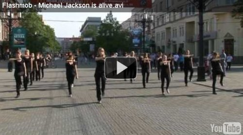 Flashmob в Челябинске :: Michael Jackson is alive