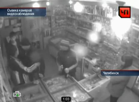 Драка в магазине в Челябинске