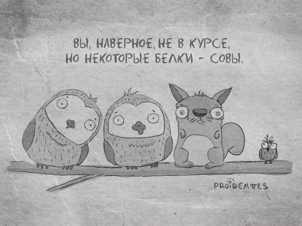 Апофигей Пройдёмтес представляет