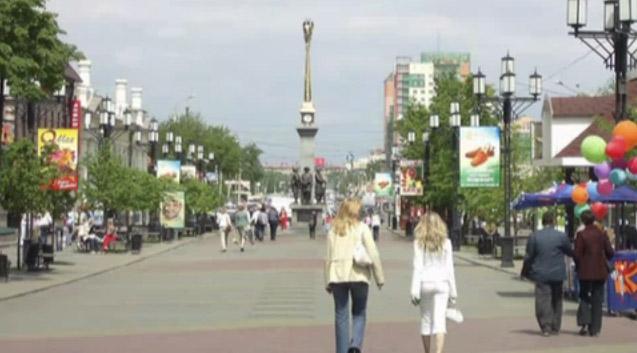 Челябинск под солнцем лучистым