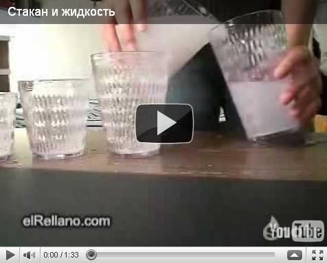 Стаканы и жидкость