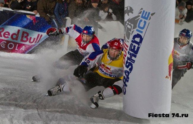 Red Bull Crashed Ice 2010 в Челябинске!!!