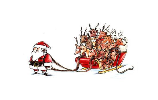 Дед Мороз VS Санта Клаус