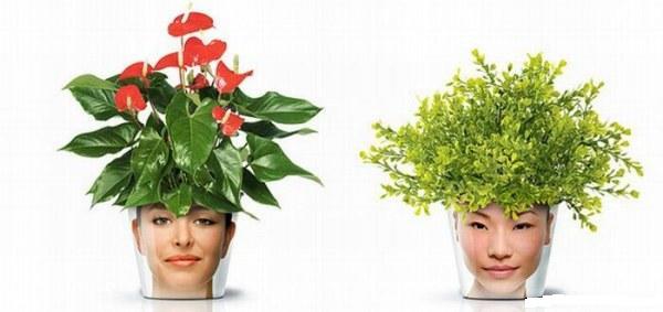 Цветочная голова