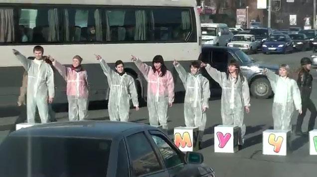 Интересная реклама. Челябинск. Магазин игрушек