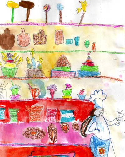 Конкурс детского рисунка «Хочу стать поваром» - Челябинск!