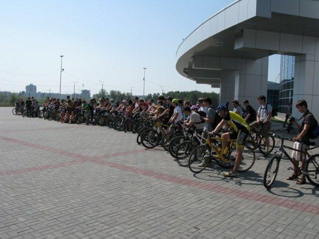1 июля. «Солнечный» велопробег 2012. Челябинск!