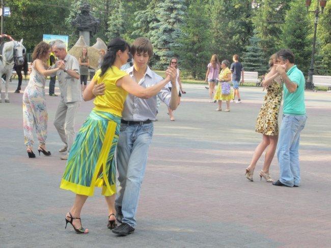 26 августа. Tango - open-air в парке Пушкина. Челябинск!