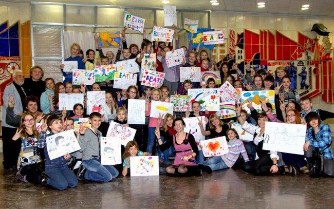 7-28 февраля. Мир «THE BEATLES», глазами детей. Челябинск!