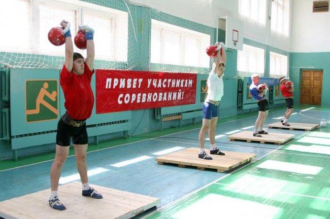 Первенство России среди юниоров по гиревому спорту 2013