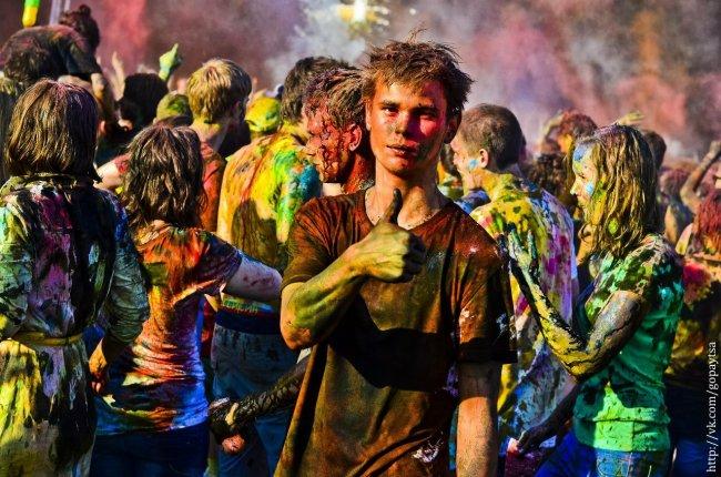 27 июля. Фестиваль красок. Челябинск!
