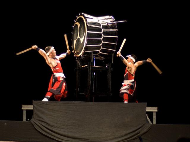18 апреля. Шоу японских барабанщиков Aska. Челябинск!