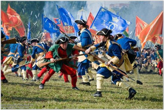 29 июня. Реконструкция Полтавской битвы. Челябинск!