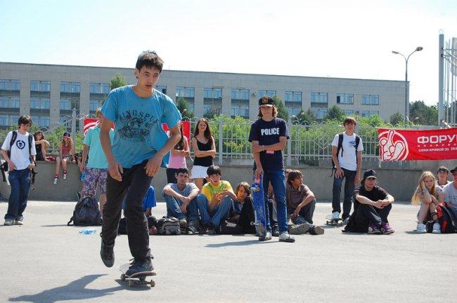 22 июня. Всемирный День скейтбординга в Челябинске!